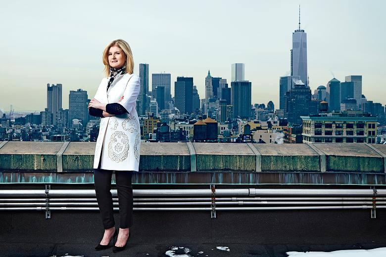arianna huffington by the times.co.uk
