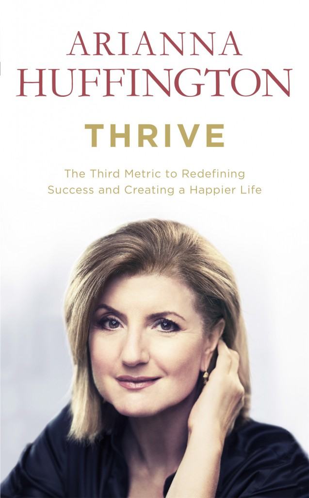 arianna huffington thrive book cover
