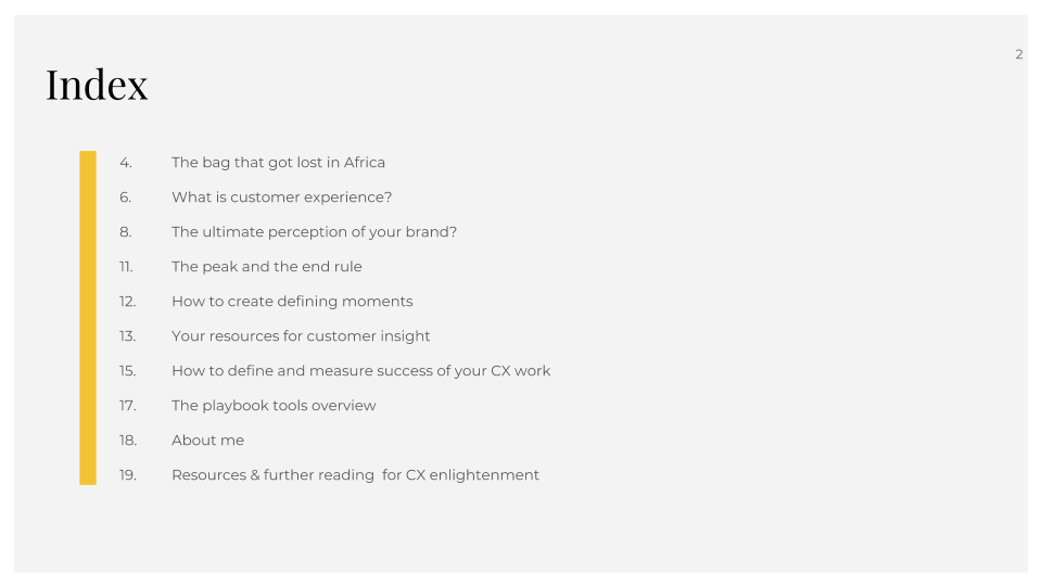 The customer experience playbook (2)